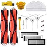 Accessory Kit for Xiaomi Mi Robot Xiaomi mijia roborock s50 s51 roborock 2 Vacuum Cleaner Replacement Parts Pack of Main Brus