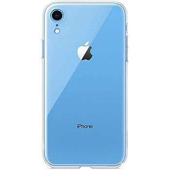 iPhone XR ケース/NEW iPhoneXR用【amacore】ハードケース クリア (iPhoneXR, フルカバー)