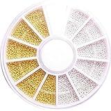 【jewel】高品質 大容量 ブリオン ホワイト&ゴールド ケース付き