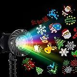 Jingle Jollys Christmas Laser Lights Projector Pattern LED Laser Landscape Projector Light Lamp Christmas Party