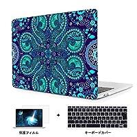 Redlai 新型 MacBook Pro 13 インチ Touch Bar無し ハードプラスチックケース 対応モデル(A1708) Pro 13.3 インチ 専用シェルカバー ハードケース 液晶保護フィルムと日本語キーボードカバー付き(M765)