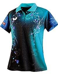 バタフライ(Butterfly) 卓球 ゲームシャツ レディース リリベル?シャツ