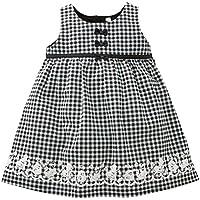 西松屋 [EFD] チェックドットジャンパースカート 【80cm?90cm?95cm】 95 チェック
