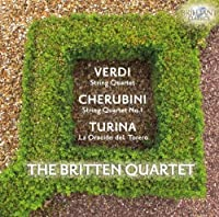 Verdi: String Quartet / Cherubini: String Quartet, No. 1 / Turina: La Oraciondel Torero (2010-08-19)