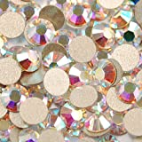 【全122色】スワロフスキー ラインストーン 小分け 100粒 ? 【レギュラーカラー1】 ネイル デコ、レジンに/ss30(20粒)クリスタルオーロラ