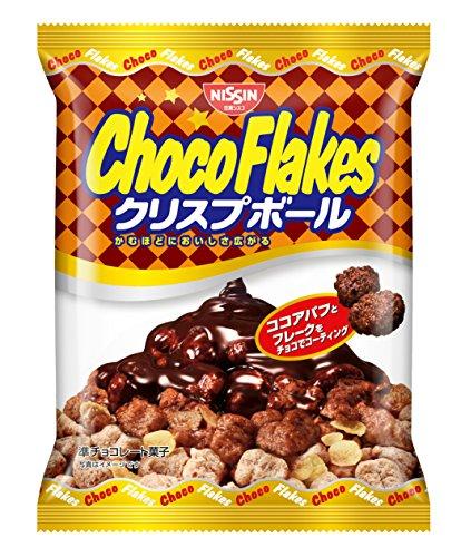 日清シスコ チョコフレーク クリスプボール 70g×12袋