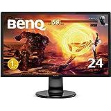 BenQ ゲーミングモニター ディスプレイ GL2460BH 24インチ/フルHD/TN/1ms/75Hz/輝度自動調整/ブルーライト軽減/HDMI/D-sub/DVI/スピーカー付き