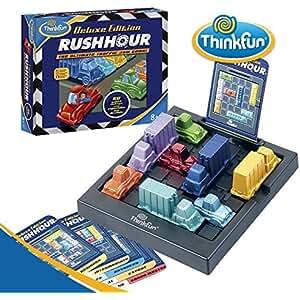 ThinkFun シンクファン Rush Hour Delexe Edition ラッシュアワー・デラックスエディション The Ultimate Traffic Jam Game [並行輸入品]