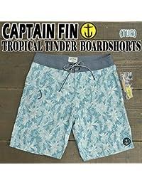 CAPTAIN FIN/キャプテンフィン TROPICAL TINDER BOARDSHORTS TUR 男性用 サーフパンツ ボードショーツ [並行輸入品]
