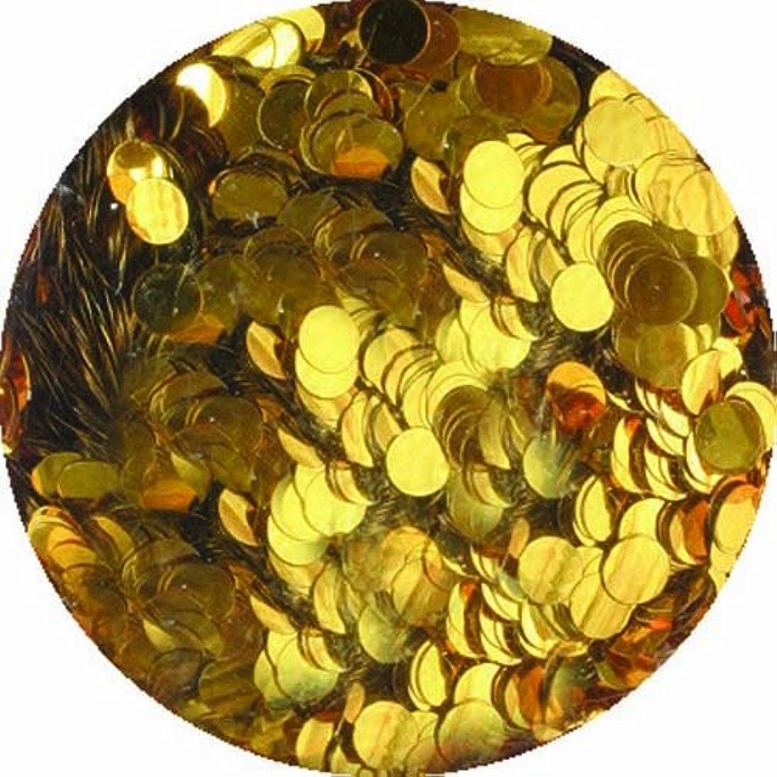 移住するひも市場ビューティーネイラー ネイル用パウダー 黒崎えり子 ジュエリーコレクション ダークゴールド丸2mm