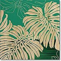 ユーパワー 植物・花 グリーン W40xH40xD4cm