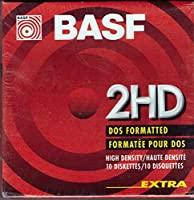Diskettes New Basf 2hd DOS Double Sided 3.5' [並行輸入品]