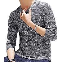 [ラルジュアルブル] トップス カットソー Tシャツ ロンT 長袖 インナー アウター かっこいい シンプル カジュアル スポーツ