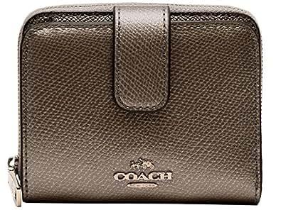 [コーチ] COACH 財布 (二つ折り財布) F52692 ピューター SV/PR レザー 二つ折り財布 レディース [アウトレット品] [並行輸入品]