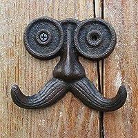 KTYX アメリカの工業風の鉄のひげのひげのフック コートハンガー