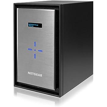 【Eコマース限定】NETGEAR ネットワークストレージ(ディスクレスNAS)/8ベイ(10TBドライブ)/最大80TB/10GBASE-T ReadyNAS 628X RN628X00-100AJS