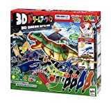 3Dドリームアーツペン 恐竜&昆虫セット(4本ペン)
