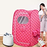 Portable Steam Sauna,Full Body Two Person Spa Tent, 2L Steamer with Remote Control, eco-Friendly Indoor Weight Loss Detox The