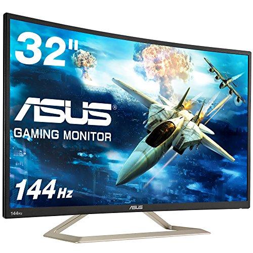 ASUS ゲーミングモニター ディスプレイ VA326H 31...