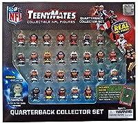 TennyMates Collectible NFL Figures Quaterback Set [並行輸入品]