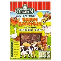 Orgranグルテンフリーの米&トウモロコシ野菜のパスタ動物の形の200グラム (x 4) - Orgran Gluten Free Rice & Corn Vegetables Pasta Animal Shapes 200g (Pack of 4) [並行輸入品]