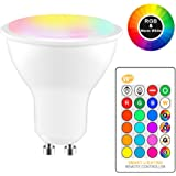Smart WiFi Light Bulb, LED RGBCW Color Changing, Compatible with Alexa and Google Home Assistant, No Hub Required, A19 E26 Mu