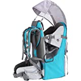 Baby Toddler Hiking Backpack Carrier Camping Child Carriers with Rain Cover Stand Child Kid Sun shade Visor Shield ,Holds up