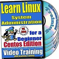 Linuxのシステム管理。初級ビデオトレーニングおよび認定試験、英語でCentOSのバージョン。 4 -DVDセット