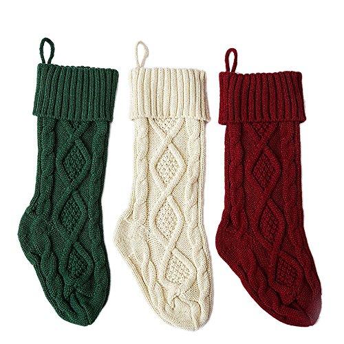 フリーソー(FREESOO)クリスマスブーツ クリスマス ソックス 3枚セット 靴下 ブーツ プレゼント 長靴 収納袋 クリスマスツリー 飾り クリスマス雑貨 オーナメント