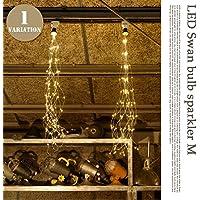 LED Swan bulb sparkler M