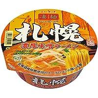 ニュータッチ 凄麺札幌 濃厚味噌ラーメン 162g