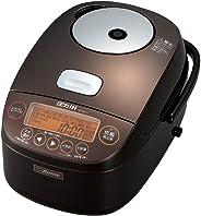 象印 炊飯器 圧力IH式 5.5合 極め炊き 鉄器コートプラチナ厚釜 ブラウン NP-BH10-TA