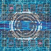 おもちゃの神様 ラバー プレイマット 電脳空間 タイプ (対戦用) リンク召喚 対応 エクストラ モンスター ゾーン あり 遊戯王