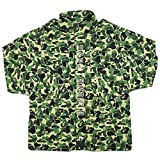 A BATHING APE ア ベイシング エイプ ×UNDEFEATED 18SS ABC M-65 ジャケット 緑 XL