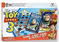Toy Story 3 Game, Card Game and Puzzle Set