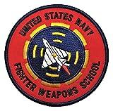 ミリタリーワッペン アメリカ軍パッチ TOPGUN, N.F.W.S (ベルクロ仕様) [並行輸入品]
