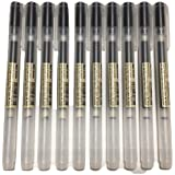MUJI Gel Ink Ball Point Pen 0.5mm Black color 10pcs