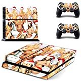 MightySticker? PS4 Designer Skin Game Console + 2 Controller Decal Vinyl Protective Covers Stickers for Sony PlayStation 4 - Best Xmas Merry Christmas Santa Girl Groups Sexy Blonde Lady Red G-string by MightySticker? [並行輸入品]