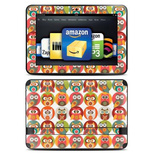 DecalGirl スキンシール Kindle Fire HD 8.9専用スキン - Owls Family