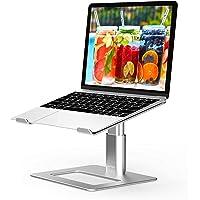 BoYata ノートパソコンスタンド 組み立て式 ノートPCスタンド タブレットホルダー 高さ調整可能 腰痛/猫背防止…