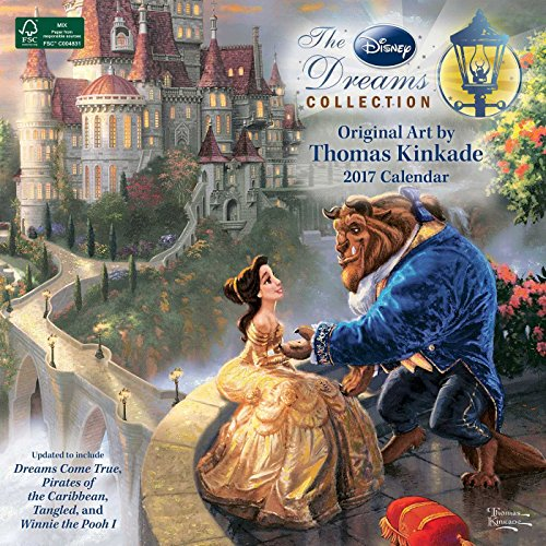 Thomas Kinkade: The Disney Dreams Collection 2017 Wall Calendar (Square Wall)