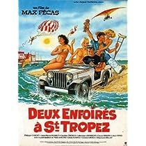 Deux enfoires a Saint-Tropez - 映画ポスター - 11 x 17