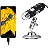 Oxbird50X-2000X, USB Microscope Children's Digital Microscope, Student Microscope, Android Phone (Not iOS iPhone), Compatible