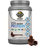 Organic Vegan SPORT Protein Powder, Chocolate - Probiotics, BCAAs, 30g Plant Protein for Premium Post Workout Recovery, NSF C