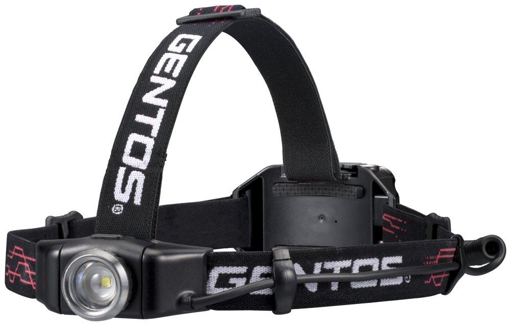 ジェントス LEDヘッドライト Gシリーズ 300lm GH-001RG
