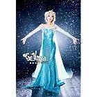 コスプレ衣装 アナと雪の女王 エルサ ドレス
