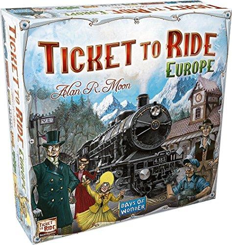 チケット・トゥ・ライド ヨーロッパ (Ticket To Ride: Europe) ボードゲーム
