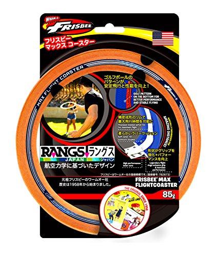 ラングスジャパン(RANGS) フリスビー マックスコースター オレンジ...