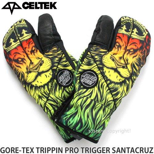 CELTEK(セルテック) メンズ グローブ GORE-TEX TRIPPIN PRO TRIGGER トリガー(3本指) ゴアテックス 16-17 SC Lion God/L [並行輸入品]
