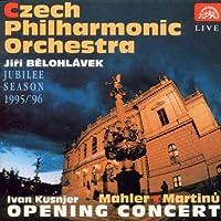 Mahler/Martinu;Jubilee 95/6